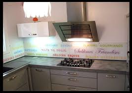 credence cuisine verre trempé crédences de cuisine décorées en verre trempé imprimé
