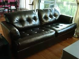 Leather Blend Sofa Comfy Leather Blend Sofa And Seat For 900 Yelp