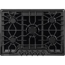 Cooktops Gas 30 Inch Frigidaire Gallery 30 In Gas Cooktop In Black With 5 Burners