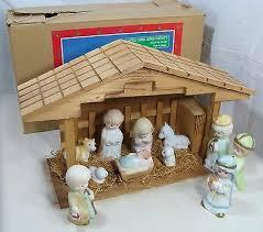 musical lighted lord jesus nativity set around the world