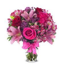 riverside florist deluxe pink sapphire flowers expo florist of riverside
