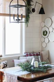 Wall Lights For Dining Room Wall Lights In The Breakfast Nook The Wood Grain Cottage