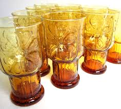 let u0027s start a trend vintage amber glass vintage goodness