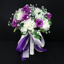 wedding bouquets online purple wedding flowers online cheap hydrangea wedding flowers the