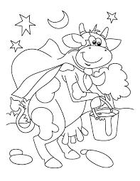 milking cartoon coloring pages color luna