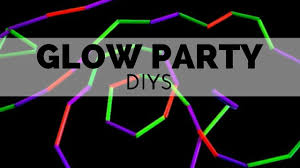 glow in dark invitations how to throw a glow party youtube