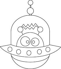 alien coloring pages preschool coloringstar
