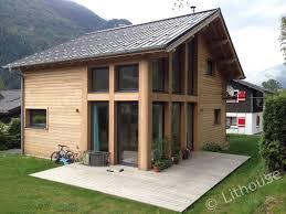 chalet construction at mont blanc valley eco friendly wooden houses