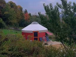 Yurt House Yurt Rental On 80 Private Acres Homeaway Waterville