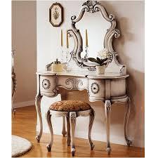 Vanity Set Furniture Bedroom Louis Xv Vanity Set Rustic Bedroom Sets With Mirror Or