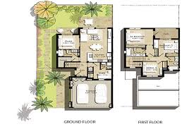 floor plans hayat townhouses town square by nshama