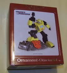 ornaments transformer ornaments hallmark