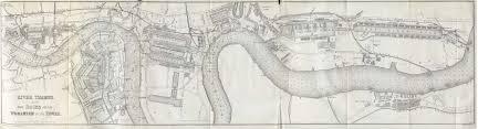 thames river map london 1882 full size
