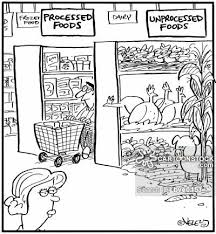 unprocessed food cartoons and comics funny pictures from