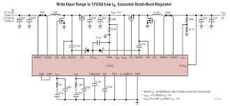 ltc7812 low iq 38v synchronous boost buck controller linear