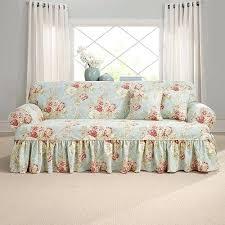 one piece stretch sofa slipcover one piece sofa slipcover stretch poly twill one piece sofa slipcover