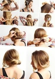 Hochsteckfrisurenen Mittellange Haare Selbstgemacht by Frisuren Mittellang Selber Machen Http Stylehaare Info 432