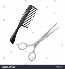 salon hair accessories set metal hair stock vector 569772457