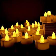 led tea lights battery life amazon com flameless candles led tea light candles long lasting