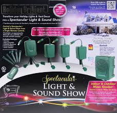 bluetooth spectacular light sound