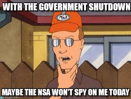 Shutdown Meme - with the government shutdown dale gribble meme on memegen