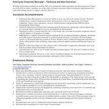 recruiter resume exles recruiter resume exles for study and sle all resume simple