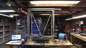 one huge kickass 3d printer for you