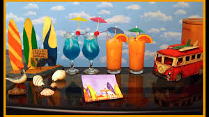 beach party themes decorations at home ideas youtube