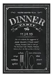 dinner party invitations dinner party invitations dinner party invitations with chic sle