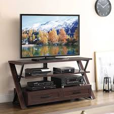 whalen brown cherry tv stand whalen calico 54 in tv stand hayneedle