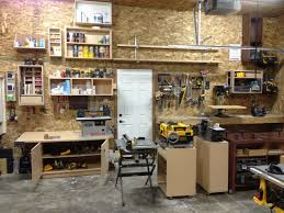 luke s garage shop the wood whisperer luke s garage shop