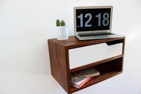 Nightstand With Shelf Floating Nightstand Hanging Table 16