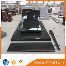 tombstone prices best price various size black granite blank tombstone in