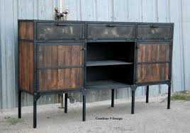 kitchen buffet and hutch furniture buy a custom buffet hutch vintage industrial mid century modern