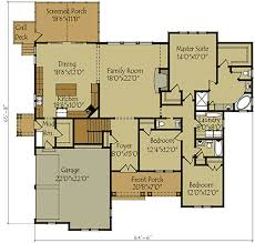 Cotswold Cottage House Plans by One Story Floor Plans With Basements