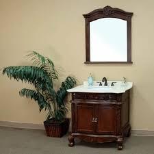 montreal single 35 inch traditional bathroom vanity with mirror Bathroom Vanity Montreal