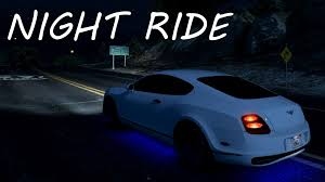 bentley night night ride bentley continental supersports beta2 gta v youtube