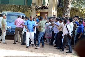 Weerawansa Remanded Former Minister Wimal Weerawansa Arrested By Fcid Seithy Com