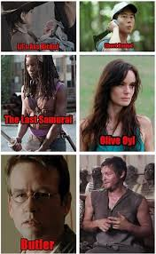 Daryl Walking Dead Meme - daryl dixon s many pet names the walking dead the walking dead
