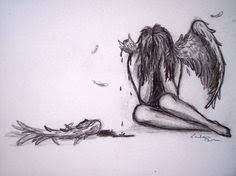 pencil drawings of angels and demons google search more