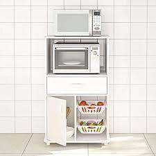 kitchen appliance storage cabinet boahaus white mdf kitchen storage cabinet