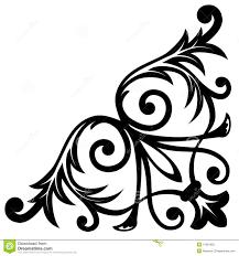 corner ornament stock photo image 11907830