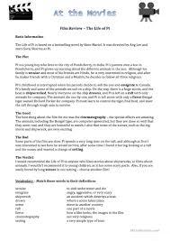 zoo writing paper movies worksheet worksheet free esl printable worksheets made by full screen