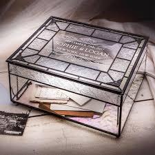 engravable keepsake box card box for wedding engraved vintage wedding keepsake box