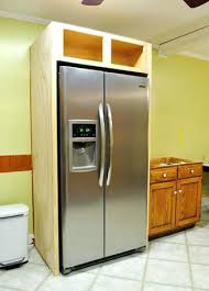 space between top of refrigerator and cabinet space between top of refrigerator and cabinet refrigerator cabinet
