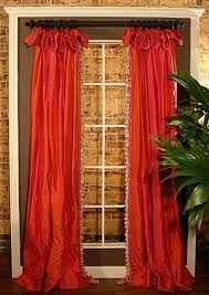 Hanging Curtains High And Wide Designs Pate Meadows Floppy Top Panels This Pattern Not The Fabric Would