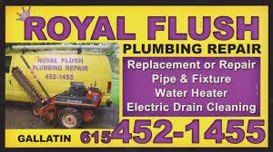millersville plumbing royal flush plumbing repair l l c plumbing or related services