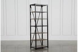 industrial bookcases living spaces