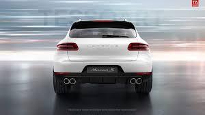 Porsche Macan Black Wheels - render porsche macan s in white with sportdesign wheels