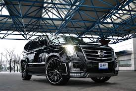 cadillac escalade 2017 grey lexani forged wheels lf 731 pisces in gloss black with chrome lip